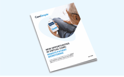 New White Paper — New Opportunities in Virtual Care: Remote Patient Monitoring