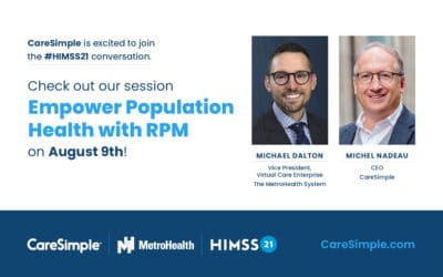 On the Road to (Digital) HIMSS21 and Remote Chronic Disease Management Success